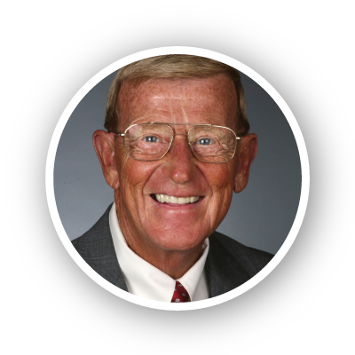 Photo of Coach Lou Holtz